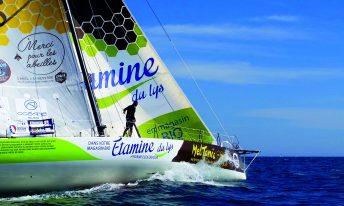 Le tour du monde d'Etamine du Lys avec le Vendée Globe