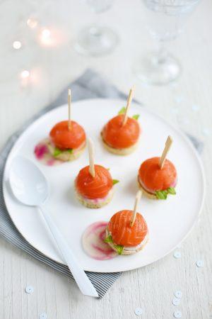 Sucettes au saumon - Bonneterre