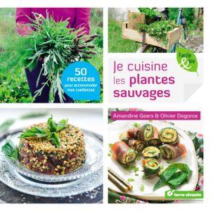 """Livre """"Je cuisine les plantes sauvages"""""""