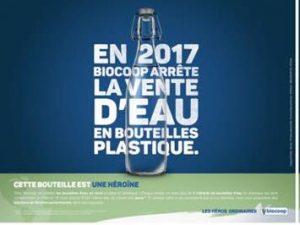 biocoop bouteille plastique