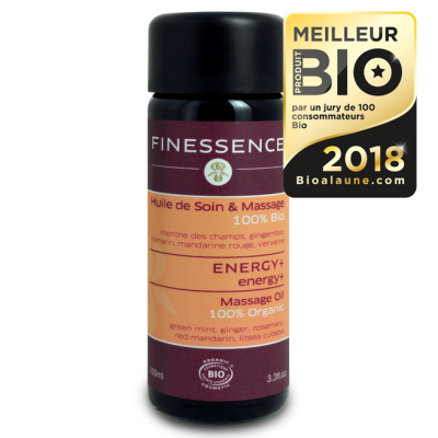 FINESSENCE Huile Massage Energy+