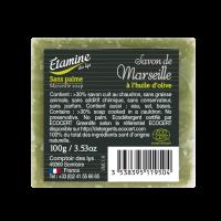 Savon de marseille à l'huile d'olive Etamine du lys