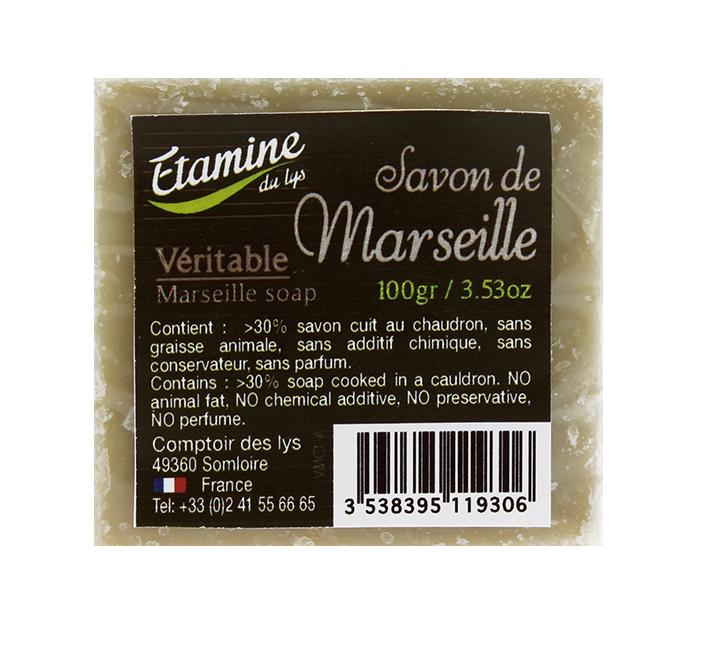 Savon de marseille 100 gr etamine du lys abon obio - Composition savon de marseille ...