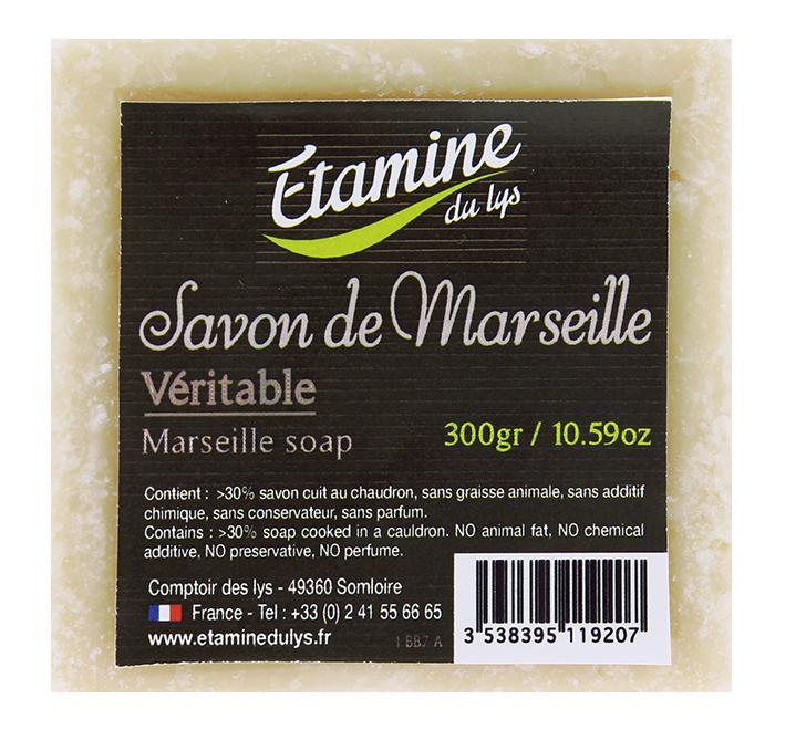 Savon de marseille 300 gr etamine du lys abon obio - Composition savon de marseille ...