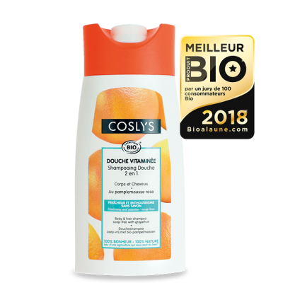 Coslys shampoing douche pamplemousse