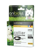 Collier antiparasitaire petit chien Anibiolys