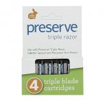 Recharge lames de rasoir - Preserve