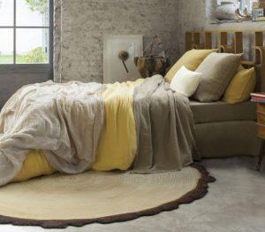 Linge de lit bio couleur chanvre