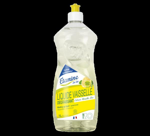 liquide vaisselle citron menthe etamine du lys