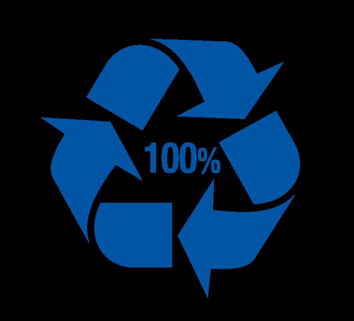 picto 100% recyclé