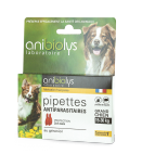 Pipettes antiparasitaires grand chien - Anibiolys
