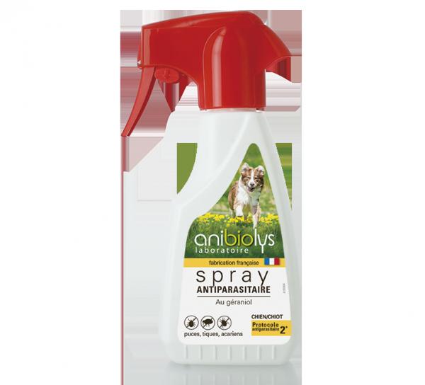 Spray antiparasitaire chien - Anibiolys