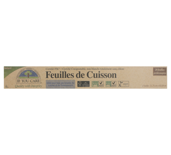Feuilles de cuisson - If You Care