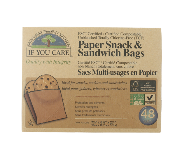 Sacs en papier - If You Care