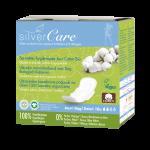 serviette jour coton bio silvercare