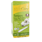 Tampon normal avec applicateur - Silver Care