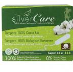 Tampon super sans applicateur - Silver Care