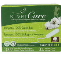 Tampon super sans applicateur - Silver Care