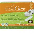 Tampon super plus sans applicateur - Silver Care