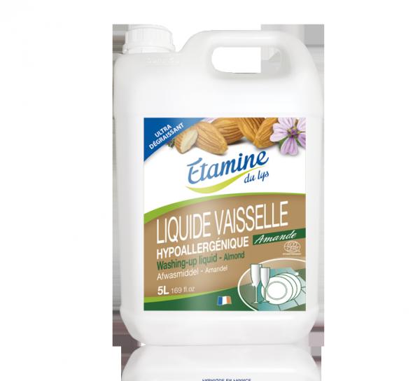 Liquide vaisselle amande hypoallergénique 5L - Etamine du lys
