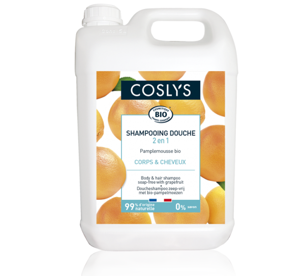 shampoing douche pamplemousse