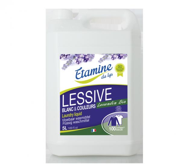 lessive liquide lavandin 5L