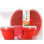 Boîtes à sandwich rouge Preserve