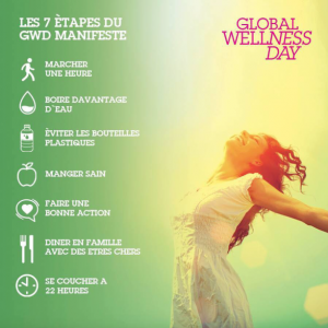 7 étapes Global Wellness Day