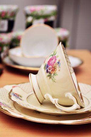 Tasse de thé en porcelaine