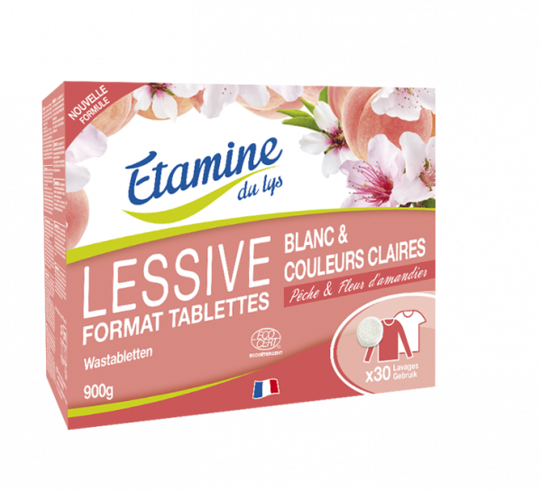 tablettes lessive linge etamine du lys