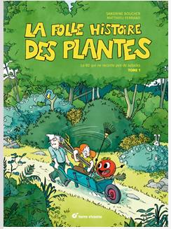 BD la folle histoire des plantes