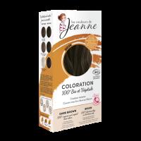 coloration vegetale brun