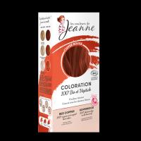 coloration végétale - cuivré rouge