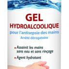 Gel hydroalcoolique - antisepsie des mains