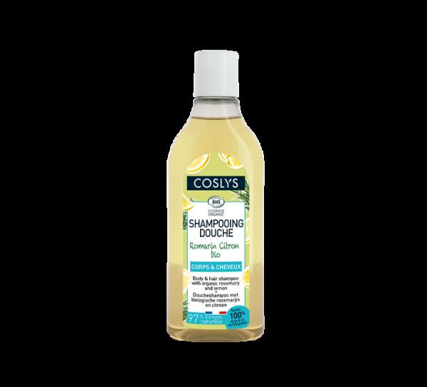 shampooing douche romarin citron